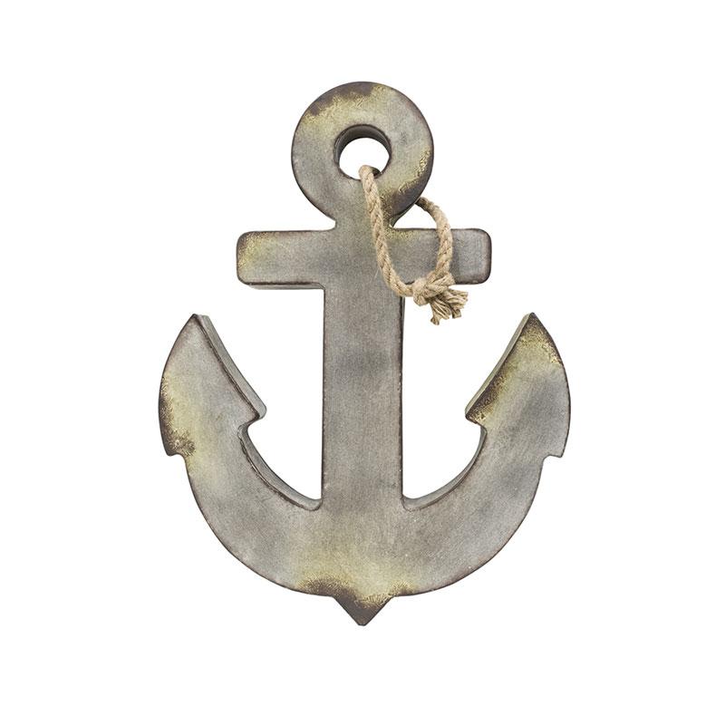 Metal Anchor, Aged Zinc Color