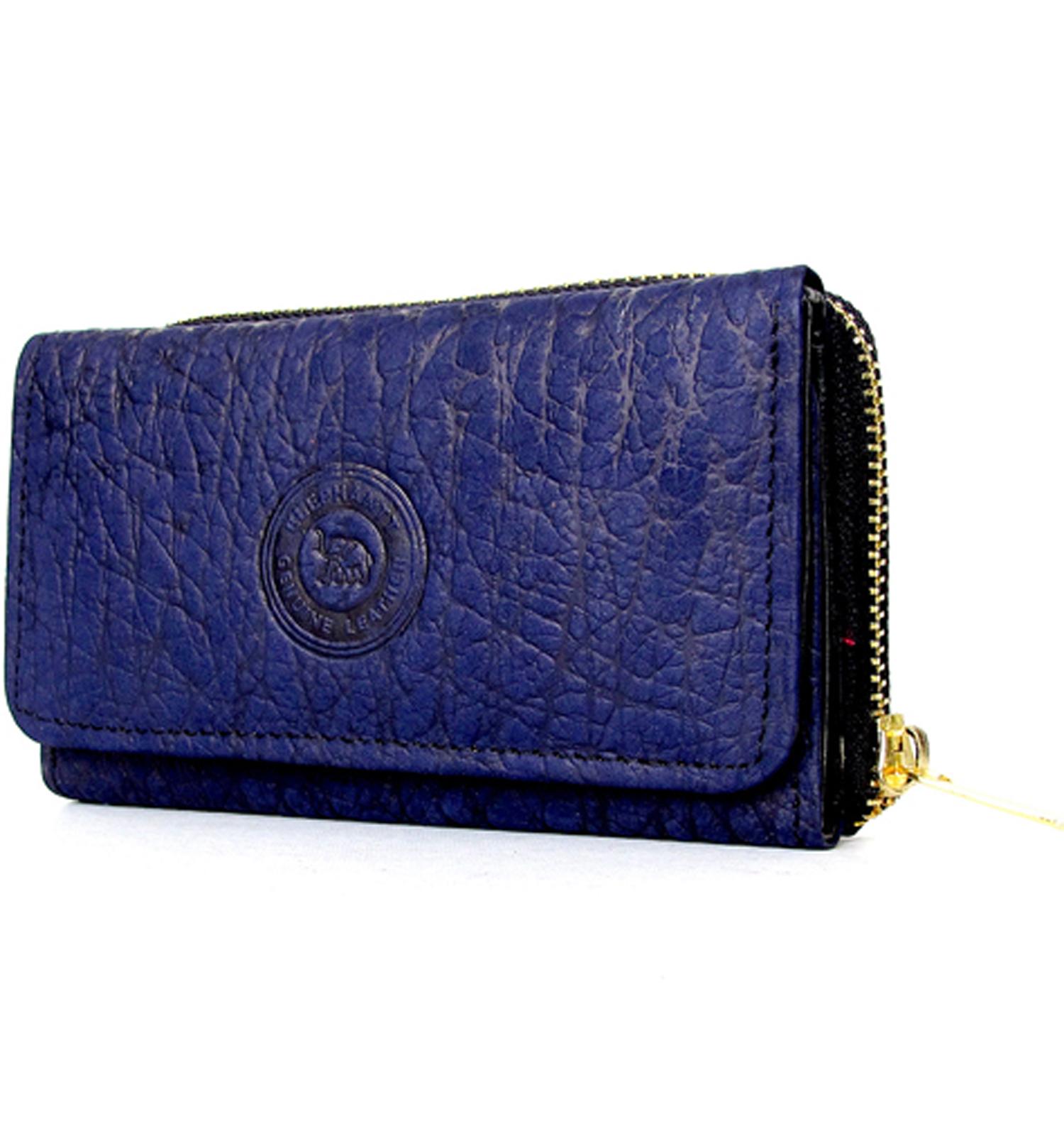 กระเป๋าสตางค์ 3 พับ ลายหังช้าง ElephantPatttern_1039