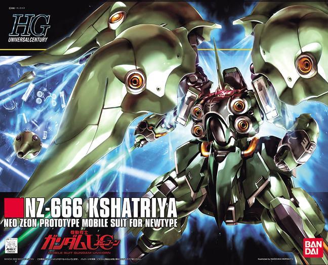 HGUC 1/144 Kshatriya