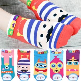 A045**พร้อมส่ง**(ปลีก+ส่ง) ถุงเท้าแฟชั่นเกาหลี ข้อสั้น มี 5 แบบ เนื้อดี งานนำเข้า( Made in Korea)