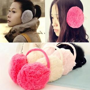 V002**พร้อมส่ง** (ปลีก+ส่ง) ที่ปิดหูกันหนาว แฟชั่นเกาหลี ด้านในมีขนนุ่มๆ กันหนาวได้ดีคะ ใส่ได้ทั้งเด็กและผู้ใหญ่