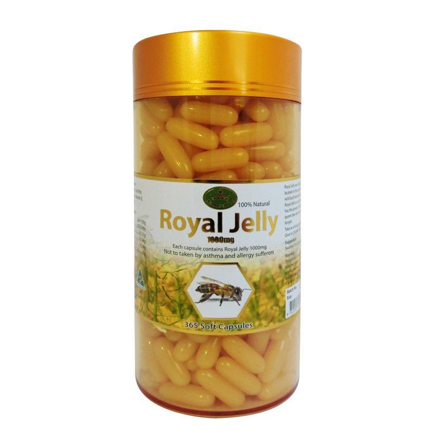นมผึ้ง royal Jelly nature's king เนเจอร์คิงส์ 365 cap