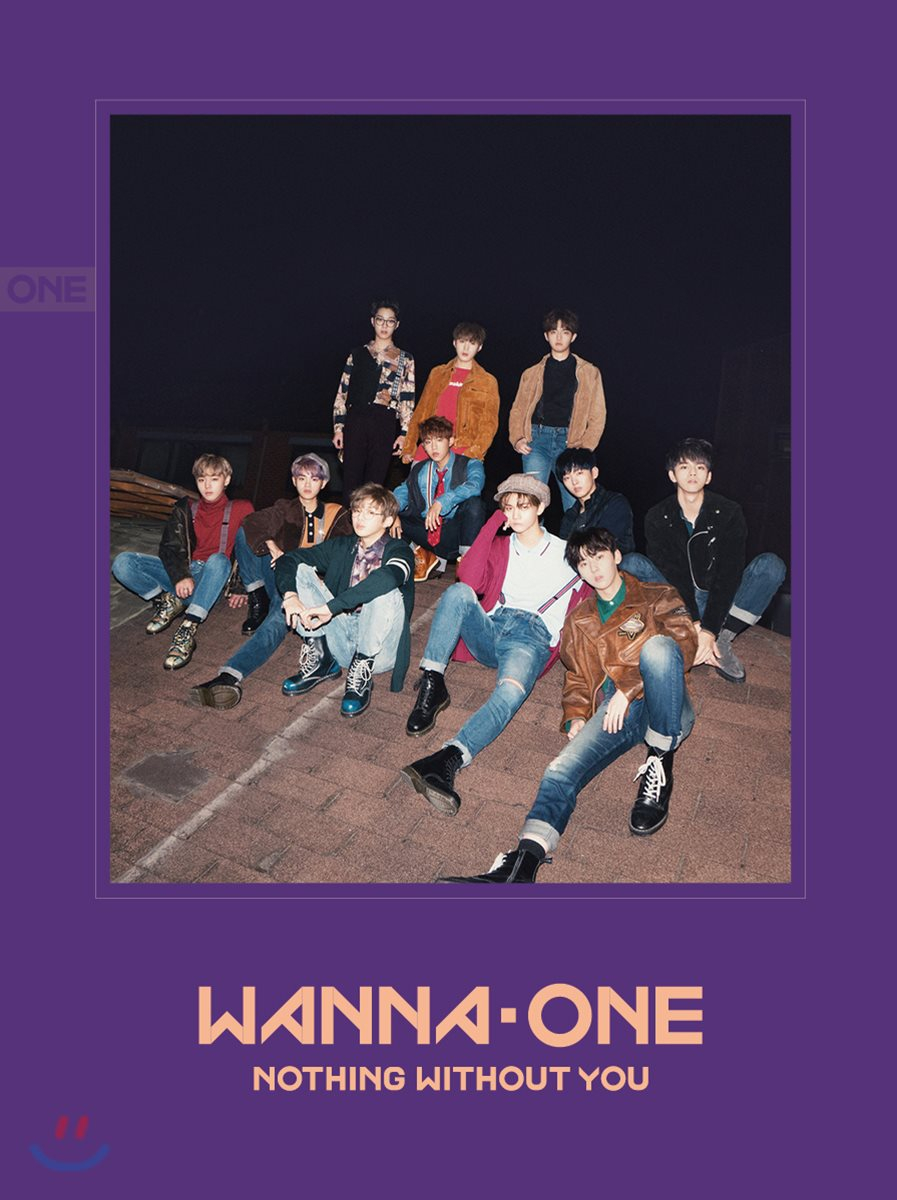 WANNA ONE - To Be One Prequel Repackage Album [1-1=0(NOTHING WITHOUT YOU)] (Wanna Ver.) พร้อมส่งค่ะ