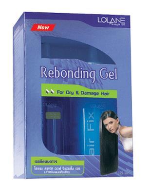โลแลน สเทรท ออฟ รีบอนดิ้ง เจล สำหรับผมแห้งเสีย Lolane Rebonding Gel Dry&Damage Formula 125 ml