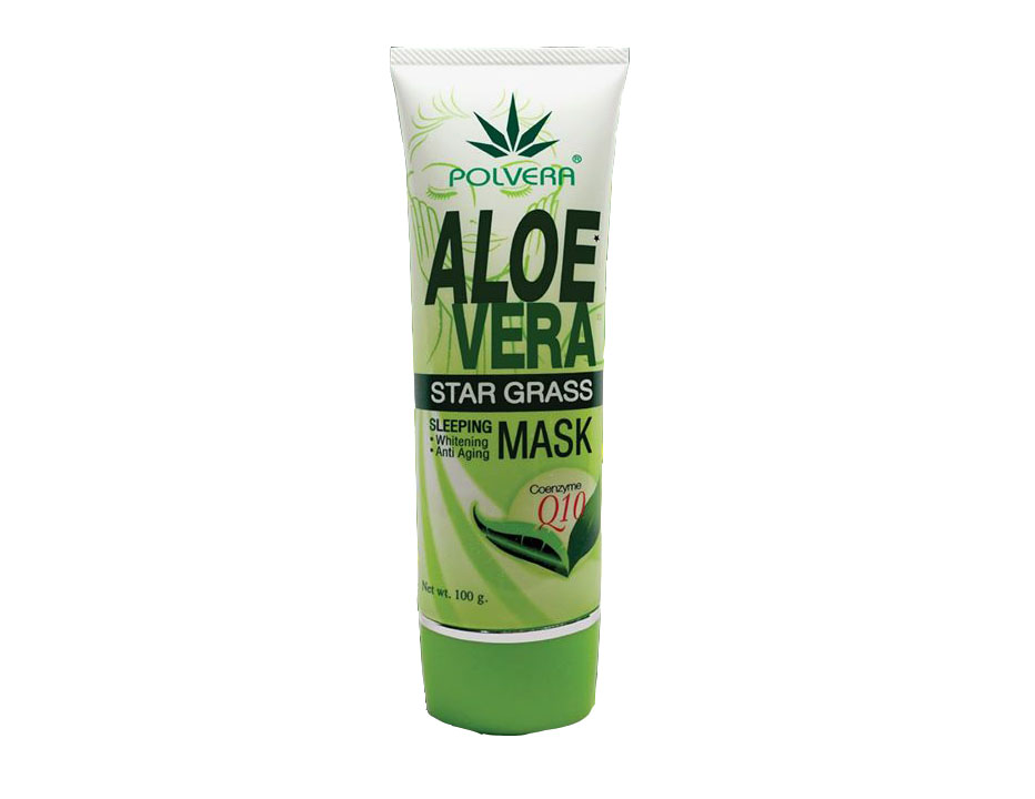 Aloe Vera and Star Grass Sleeping Mask