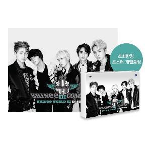 DVD SHINEE - SHINee The 3rd Concert [SHINee WORLD III IN SEOUL] + poster