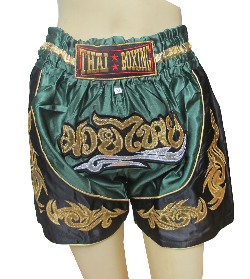 Thai Boxing Boxer For Kids Fit For Waist 20-21-22 Inches Size S กางเกงนักมวยไทยสำหรับเด็ก