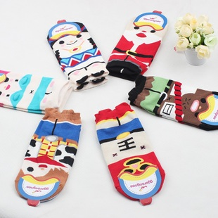 A048**พร้อมส่ง**(ปลีก+ส่ง) ถุงเท้าแฟชั่นเกาหลี ข้อสั้น มีหู มี 6 แบบ เนื้อดี งานนำเข้า( Made in Korea)