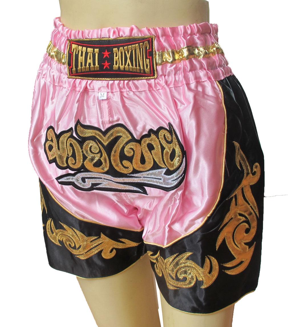 Thai Boxing Boxer For Kids Fit For Waist 24-25-26 Inches Size M กางเกงนักมวยไทยสำหรับเด็ก