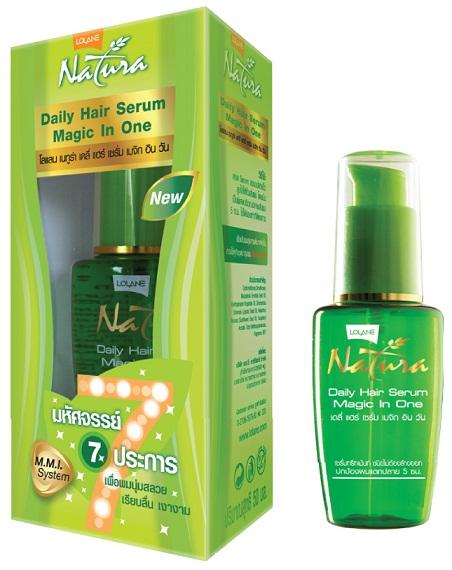 Lolane Natura Daily Hair Serum Magic In One โลแลน เนทูร่า เดลี่ แฮร์ เซรั่ม เมจิก อิน วัน 50มล. สำเนา