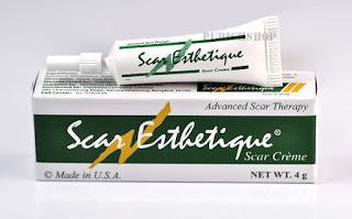 Scar Esthetique Scar cream สการ์เอสทิค สการ์ครีม ครีมลบรอยแผลเป็น 4 กรัม