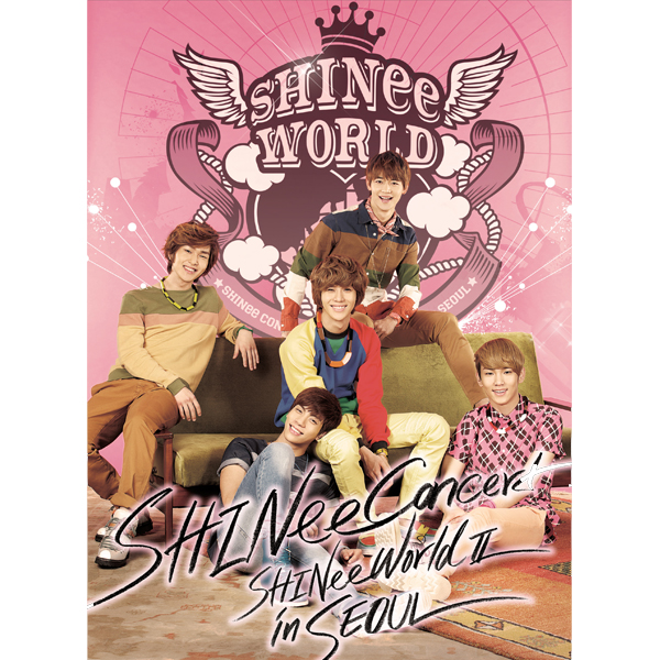 SHINee - SHINee THE 2nd CONCERT ALBUM [SHINee WORLD Ⅱ in Seoul] (2CD)