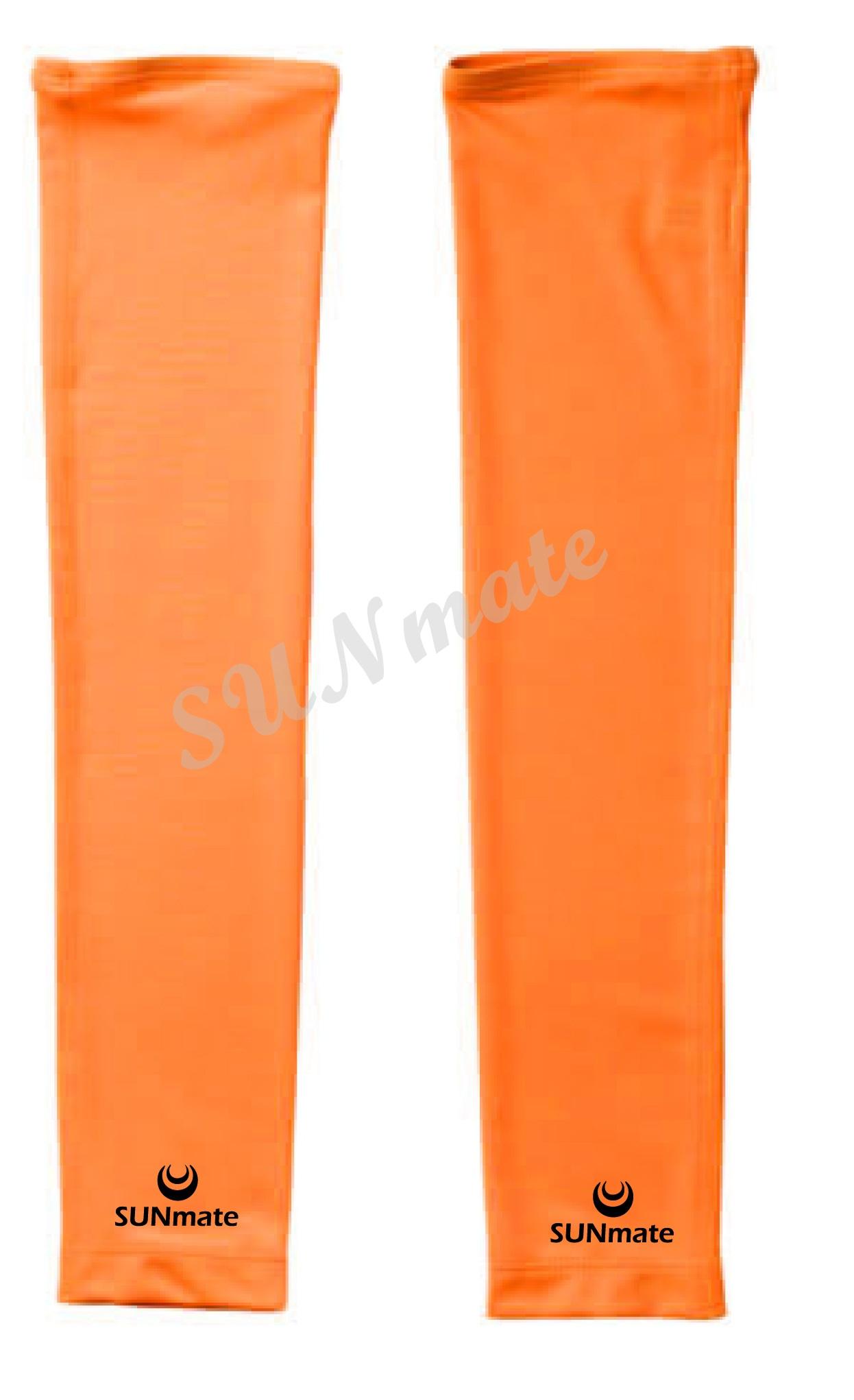 ปลอกแขนกันUV size XXL : Orange modern