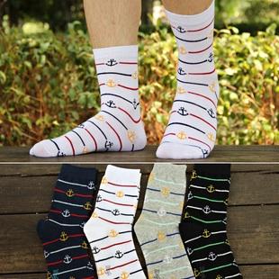 S104**พร้อมส่ง** (ปลีก+ส่ง) ถุงเท้าแฟชั่นเกาหลีผู้ชาย ข้อยาว เนื้อดี งานนำเข้า(Made in china)
