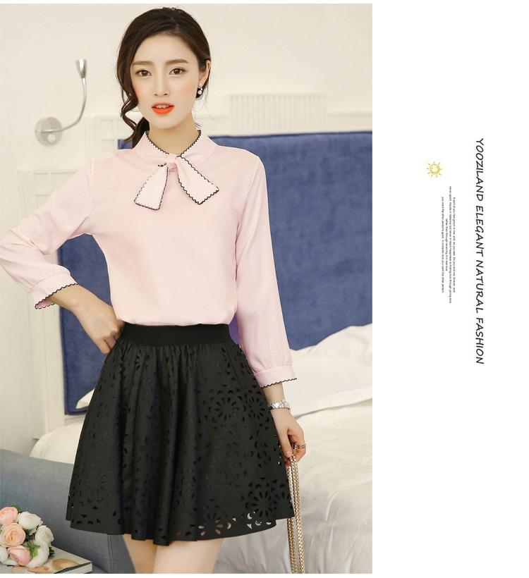 แฟชั่นเกาหลี set เสื้อ และกระโปรงดีไซน์สวยมากๆ