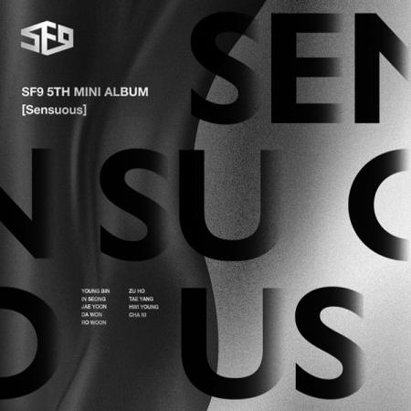 SF9 - Mini Album Vol.5 [Sensuous] หน้าปก Hidden Emotion Ver