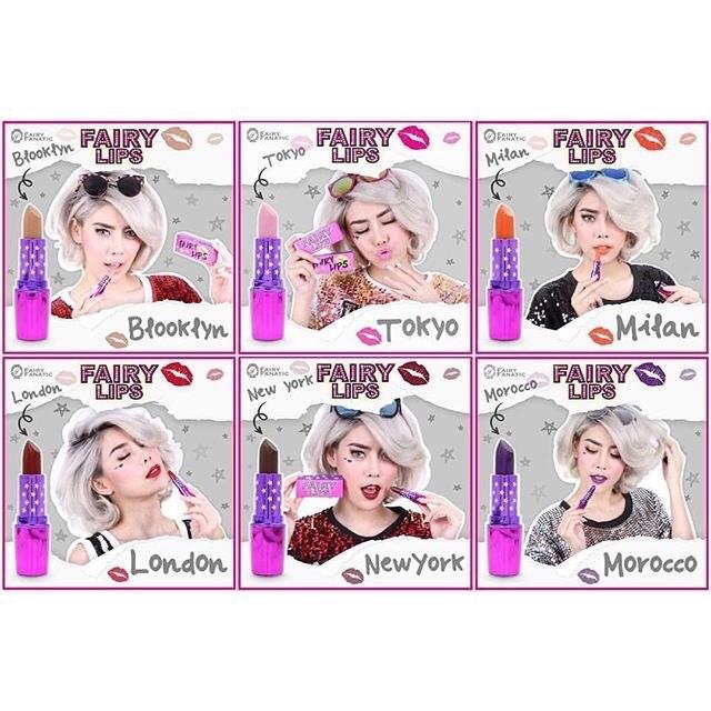 FAIRY LIPS by FAIRY FANATIC #ลิปที่ขายดีที่สุดตอนนี้
