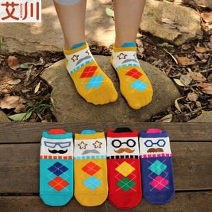 S286**พร้อมส่ง** (ปลีก+ส่ง) ถุงเท้าแฟชั่นเกาหลี ลายการ์ตูน ข้อยาว เนื้อดี งานนำเข้า(Made in China)
