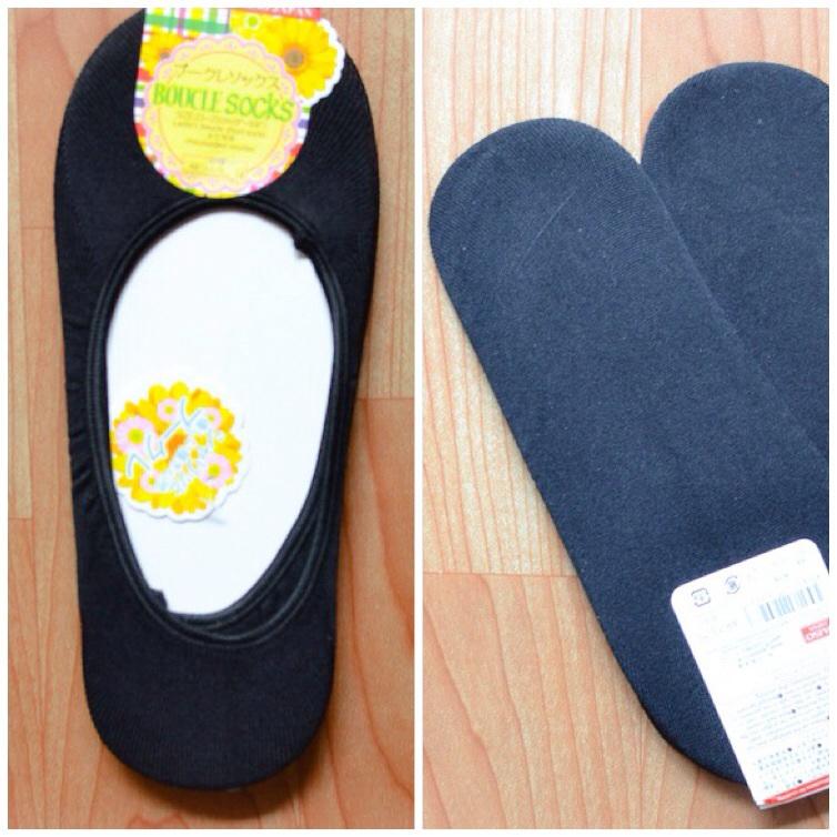 S226**พร้อมส่ง**(ปลีก+ส่ง) ถุงเท้าคัทชู สีดำล้วน ไม่มีลาย เนื้อดี งานนำเข้า(Made in China)