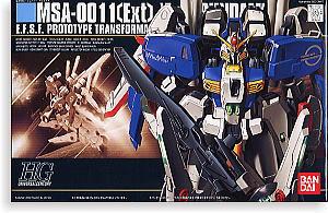 1/144 HGUC MSA-0011 (EXT) EX-S GUNDAM