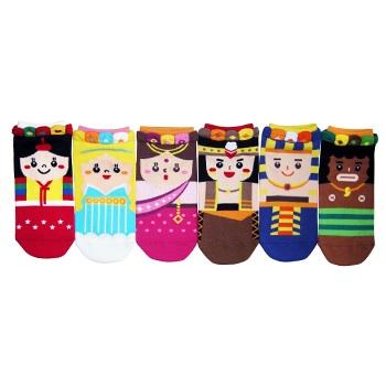 S058**พร้อมส่ง** (ปลีก+ส่ง) ถุงเท้าแฟชั่นเกาหลี ข้อสั้น เนื้อดี งานนำเข้า(Made in china)