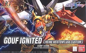 HG 1/144 Gouf Ignited (Heine Westenfluss Custom)