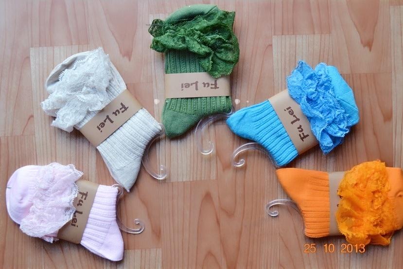 S086**พร้อมส่ง** (ปลีก+ส่ง) ถุงเท้าแฟชั่น ลูกไม้ญี่ปุ่น เนื้อดี งานนำเข้า(Made in china)
