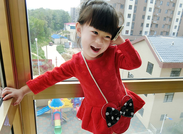 เสื้อผ้าเด็กทารก ราคาส่งจากโรงงาน ชุดเด็กผู้หญิงแขนยาวชุดกระโปรงสั้น อายุ 0-1-2-3 ปี รหัส K339 ชุดกำมะหยี่สีแดง 1 ชุด ไซร์ 70 (ส่วนสูง 59-66 cm )