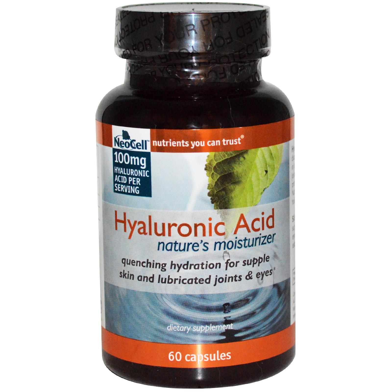 Neocell Hyaluronic acid นีโอเซล ไฮยาลูโรนิก แอซิด บำรุงผิว ริ้วรอยเหี่ยวย่น สายตา