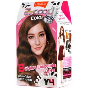 Lolane Z-Cool Color Milk Y4 Belgium Chocolate Latte