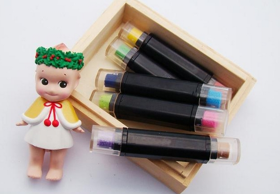[R315] หมึกสีปากกา / หมึกแท่งแบบ 2 สี