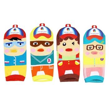 A029**พร้อมส่ง**(ปลีก+ส่ง) ถุงเท้าแฟชั่นเกาหลี ข้อสั้น แบบจมูก 3 มิติ มี 4 แบบ เนื้อดี งานนำเข้า( Made in Korea)