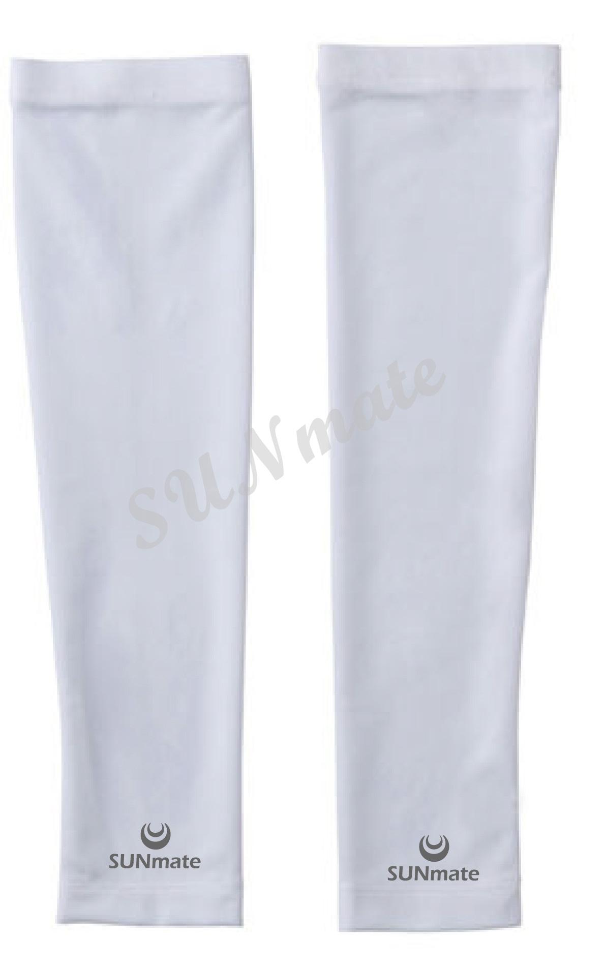 ปลอกแขนกัน UV size S : Ultra white
