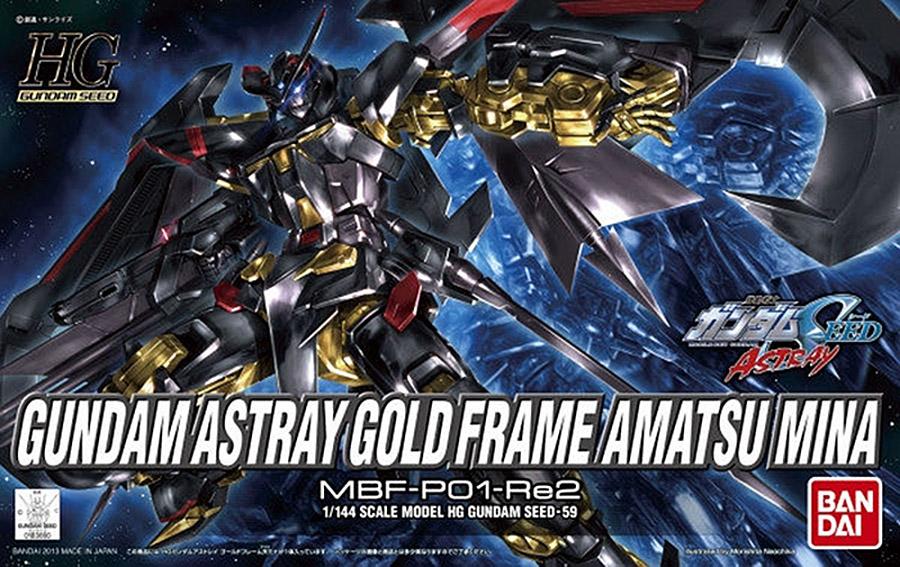 HG SEED 1/144 Gundam Astray Gold Flame Amatsu Mina