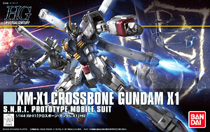 HGUC 1/144 Crossbone Gundam X1