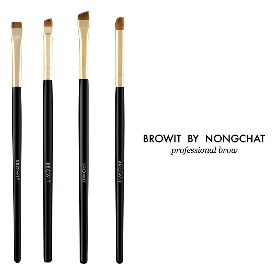 Browit By Nongchat Professional Brow แปรงบราวอิท แปรงเขียนคิ้ว น้องฉัตร แนะนำ