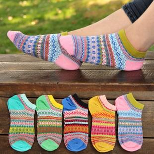 S274**พร้อมส่ง** (ปลีก+ส่ง) ถุงเท้าแฟชั่นเกาหลี ข้อสั้น เนื้อดี งานนำเข้า(Made in China)