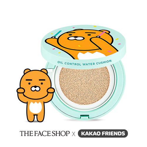 Thefaceshop x kakao friends cc ultra moist cushion 15g. แป้งน้ำ