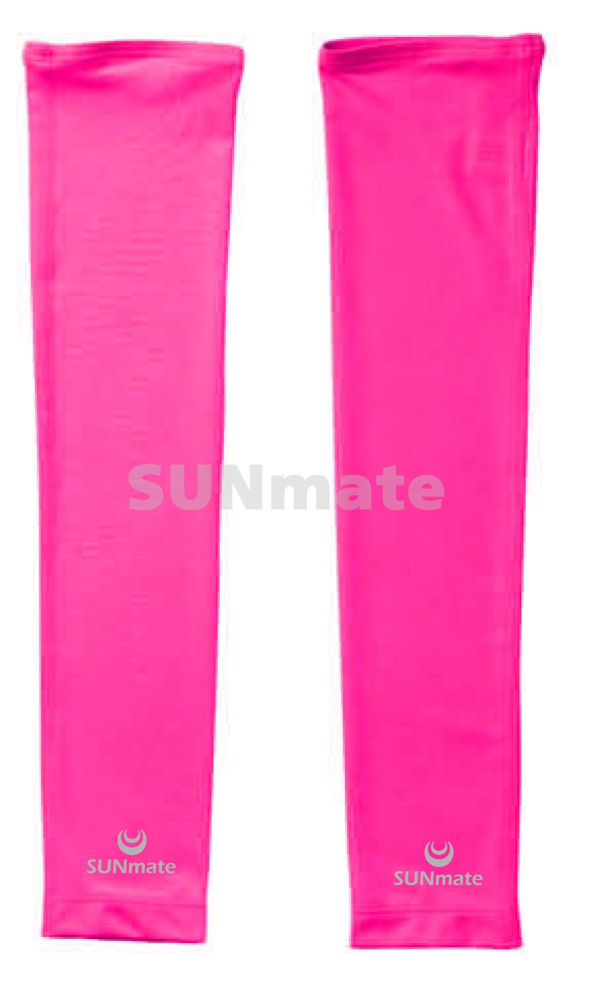 ปลอกแขนกันUV size XL : Lady pink