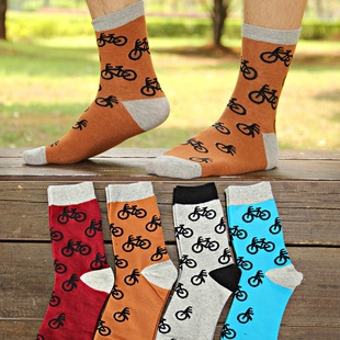 S105**พร้อมส่ง** (ปลีก+ส่ง) ถุงเท้าแฟชั่นเกาหลีผู้ชาย ข้อยาว เนื้อดี งานนำเข้า(Made in china)