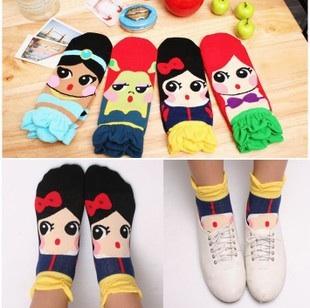S040**พร้อมส่ง** (ปลีก+ส่ง) ถุงเท้าแฟชั่นเกาหลี มีระบาย มี 4แบบ เนื้อดี งานนำเข้า(Made in china)