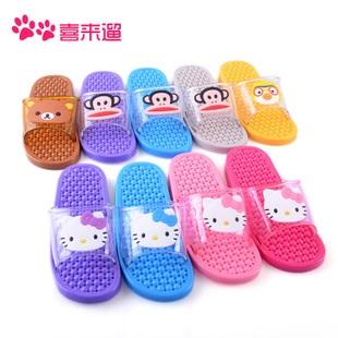 K016 **พร้อมส่ง** (ปลีก+ส่ง) รองเท้านวดสปา เพื่อสุขภาพ ปุ่มเล็ก การ์ตูน มาใหม่ ส่งคู่ละ 150 บ.