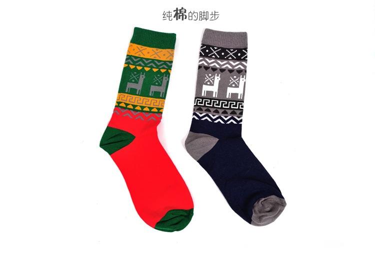 S374**พร้อมส่ง** (ปลีก+ส่ง) ถุงเท้าแฟชั่นเกาหลี ชาย ข้อยาว เนื้อดี งานนำเข้า(Made in china)