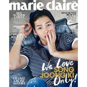 นิตยสารเกาหลี MARIE CLAIRE 2016-06 หน้าปก ซงจุนกิ SONG JOONG-KI