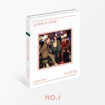 WANNA ONE - Special Album [1÷χ=1 (UNDIVIDED)] หน้าปก No.1 Ver.