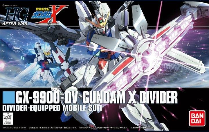 1/144 HGUC GUNDAM X DIVIDER