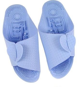 K018-SBL **พร้อมส่ง** (ปลีก+ส่ง) รองเท้านวดสปา เพื่อสุขภาพ ปุ่มเล็ก แบบถอดประกอบได้ สีฟ้า ส่งคู่ละ 80 บ.