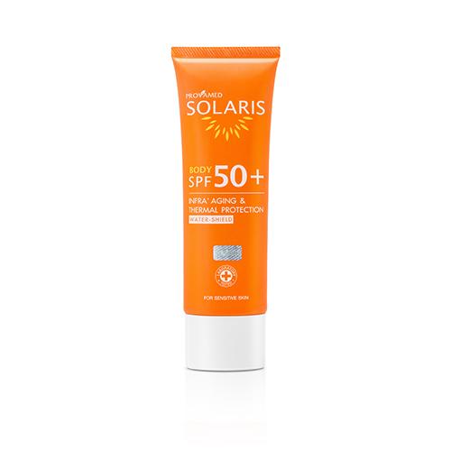 Provamed Solaris Body SPF50+ โปรวาเมด โซลาริส บอดี้ 100 ml.