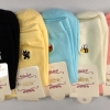 S609**พร้อมส่ง** (ปลีก+ส่ง) ถุงเท้าแฟชั่น เกาหลี ข้อยาว คละ 10 สี 10 คู่ต่อแพ็ค เนื้อดี งานนำเข้า(Made in China)
