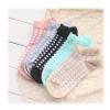 S561 **พร้อมส่ง** (ปลีก+ส่ง) ถุงเท้าแฟชั่น ข้อตาตุ่ม คละ5 สี มี 10 คู่ต่อแพ็ค เนื้อดี งานนำเข้า